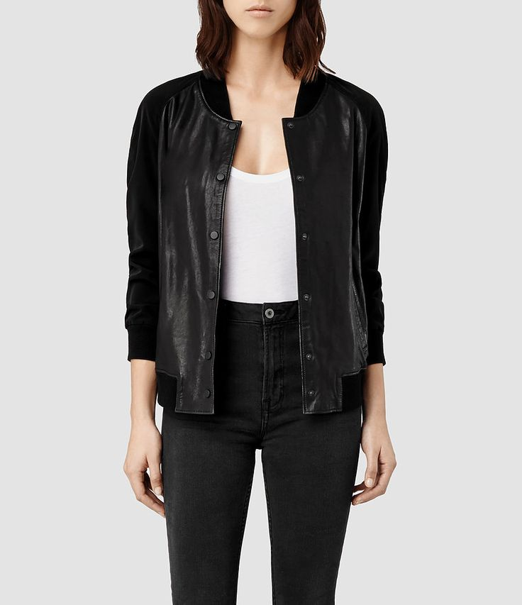 Best 25  All saints leather jacket ideas on Pinterest | Next ...