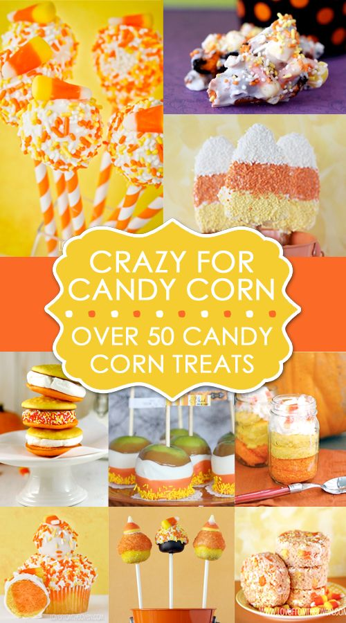 Crazy For Candy Corn Over 50 Candy Corn Sweets And Treats at Love From the Oven
