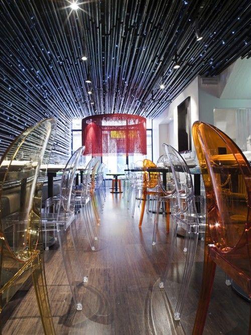 Gingerboy Restaurant,  Melbourne, Australia designed by  Elenberg Fraser Architects