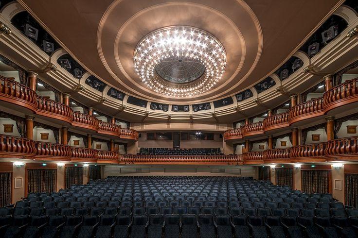 Budapesti színházak nézőterei másképpen – Hlinka Zsolt új fotósorozata | WeLoveBudapest HU