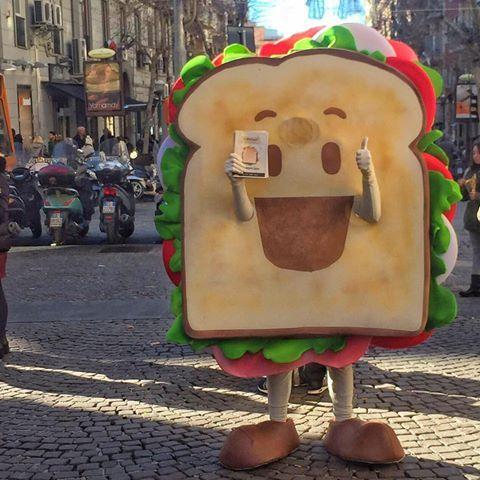 Vi presentiamo Mr. Capatoast  Come resistergli ?  #capatoast #toast # food