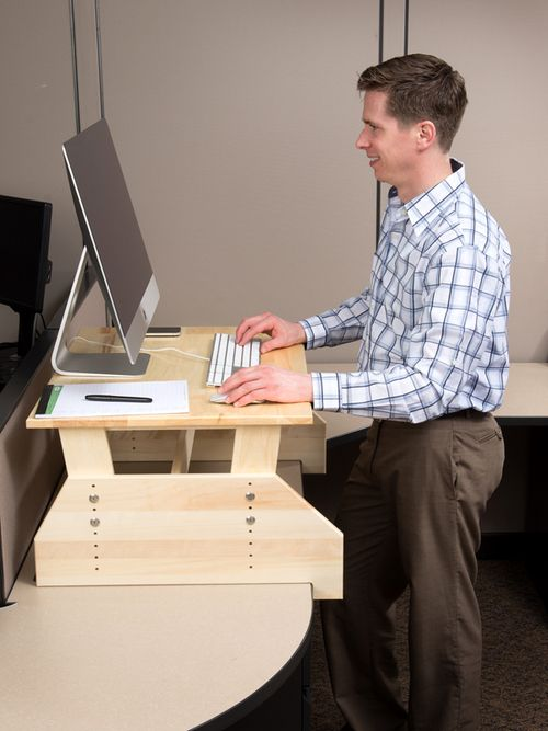 25 great ideas about Standing desks on Pinterest