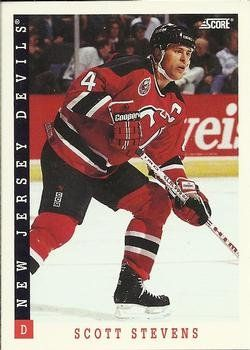 Scott Stevens 1993-94 Score NHL Hockey Card 111 New Jersey Devils >>> Details can be found by clicking on the image.