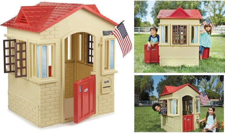 Little Tikes Playground Kids Playhouse Outdoor Cottage Toddlers Preschool Toy | eBay