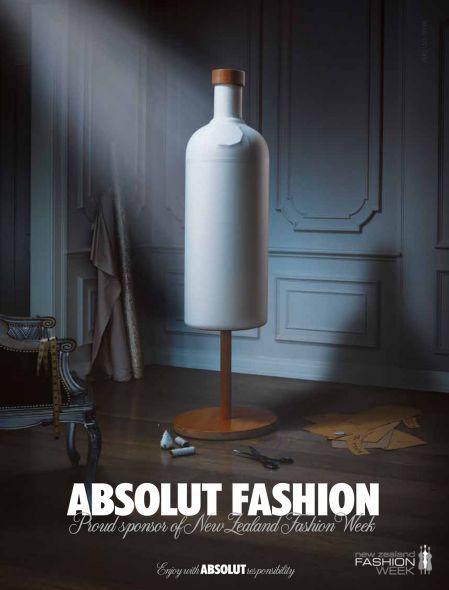 ♂ Creative advertising inspiration - Absolut fashion