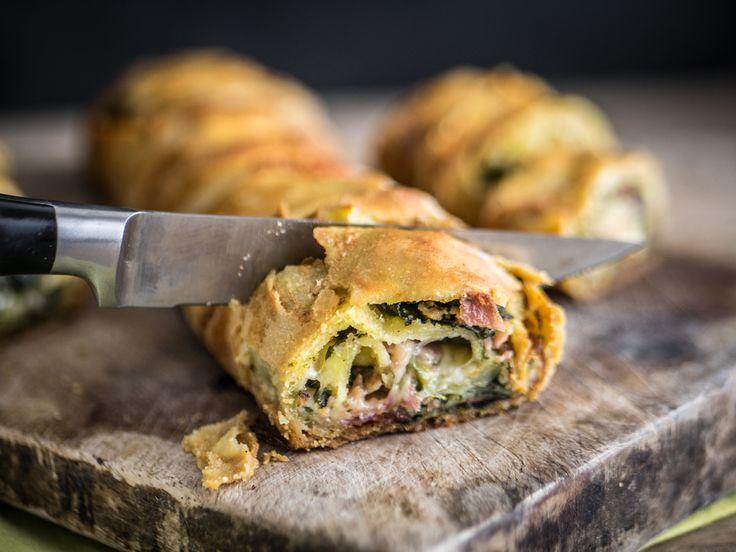 Strudel+spinaci,+bresaola+e+mozzarella
