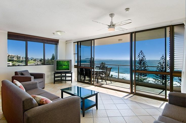 Northwind Beachfront Apartments: A smaller holiday complex (just 30 apartments), offering a quieter holiday experience, but with many family friendly features and in great Mooloolaba beach location. #familyfriendly #accommodation #mooloolaba