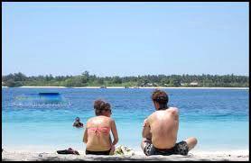 amazing honeymoon on gili trawangan lombok beach