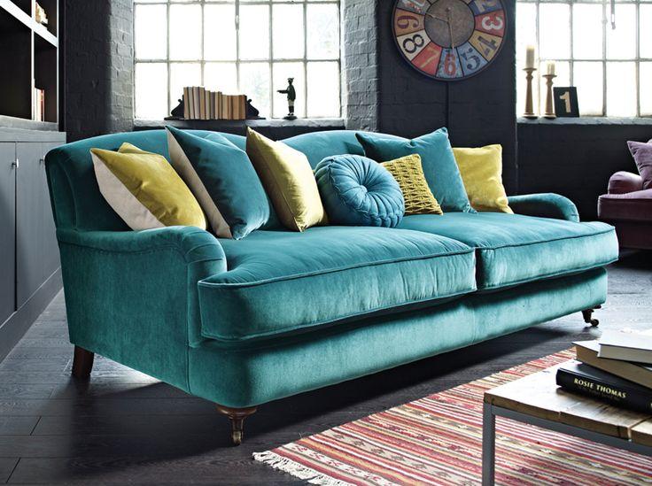 Green Velvet Sofa Living Room Ideas: 25+ Best Ideas About Green Sofa On Pinterest