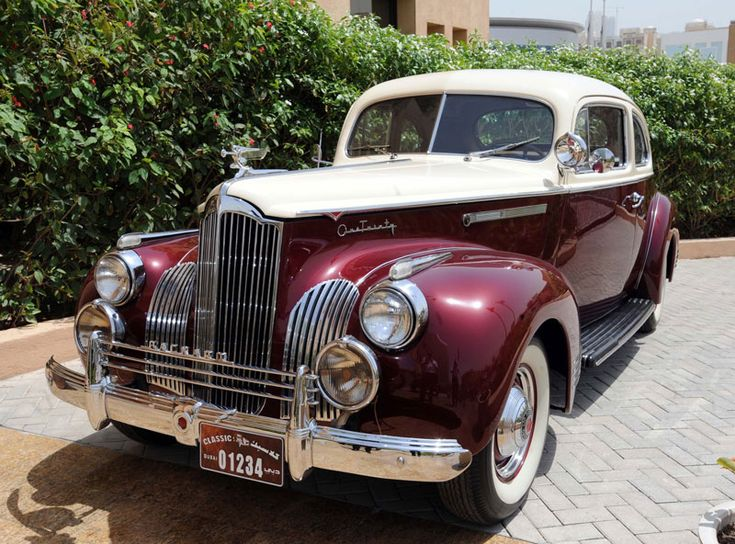 Old Classic Cars for Sale | Unique numbers for classic cars to be auctioned - Emirates 24/7