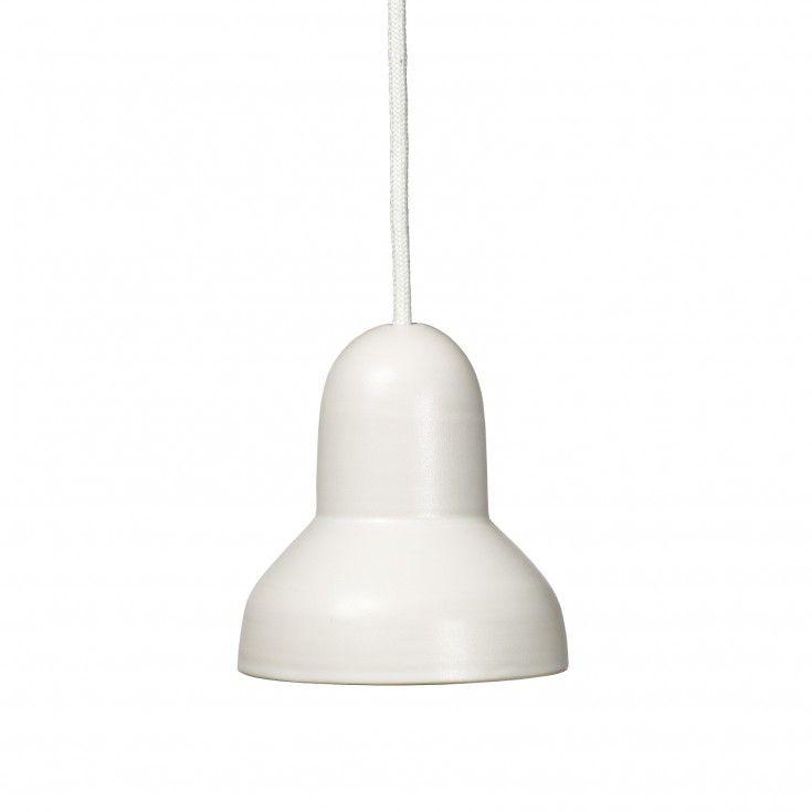 Lampa Gråborg moln vit