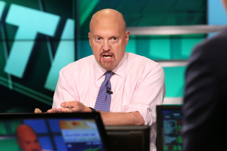 Cnbcs jim cramer said friday that hes done with fossil