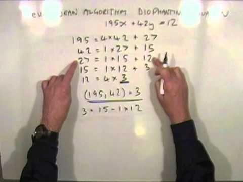 Linear Diophantine Equation - YouTube