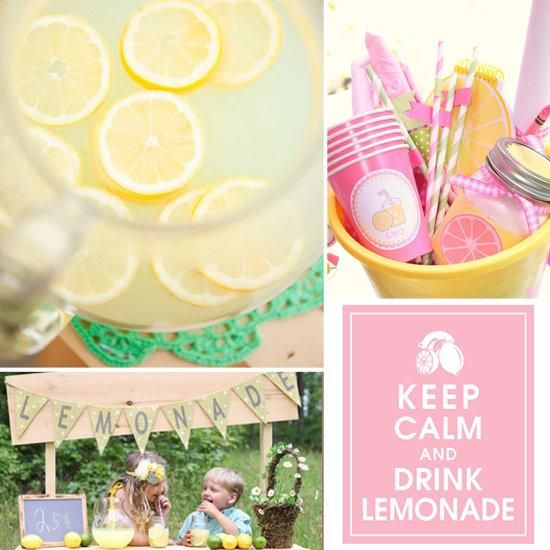 Kids' Lemonade Stand Ideas