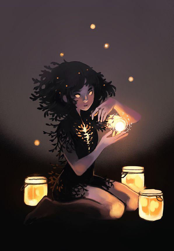 [Lantern Magic by Happydorid (Heather Penn) on Tumblr]
