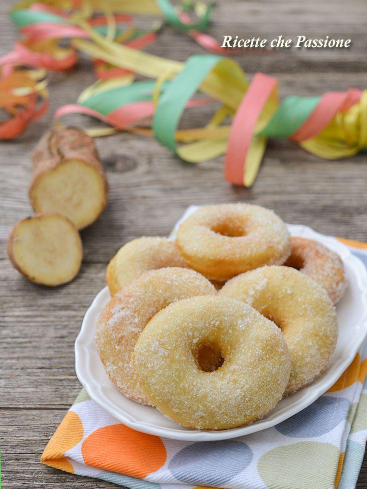Ciambelle di patate dolci - Ricetta tipica calabrese - Ricette che Passione