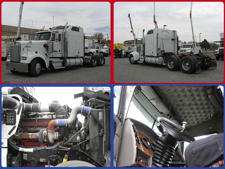 This #Kenworth W900l #Heavy_Duty_truck has all amazing class features like; sheet metal, good paint, aluminum 150 gallon fuel tanks, tilt and tele wheel, A/C. power windows, air slide 5th wheel, V.I.T. interior, Air Conditioning, Radio, CD player, 13 gauges, custom knobs, double bunk, easy reach dash. Front tires are at 70%, rears are 50-70%, brakes are 30% and many more. With all these amazing features it's available for just $34500 in Fort Collins, CO, USA at BestUsaTrucks.Com