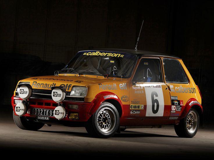 Renault 5 Alpine Rally Car