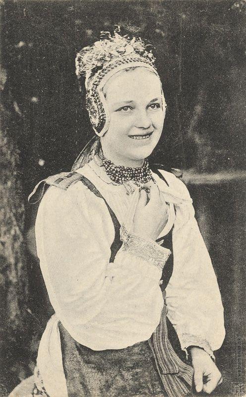 Pavol Sochán - costume from Važec / Kroj z Važca (around 1900)