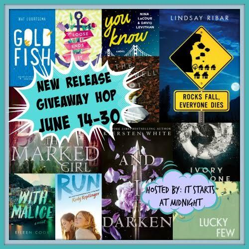 With Love for Books: June New Release Giveaway Hop