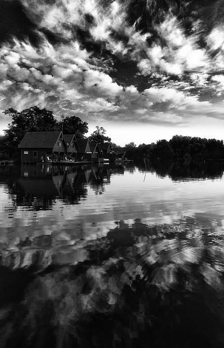 Summer end at the lake