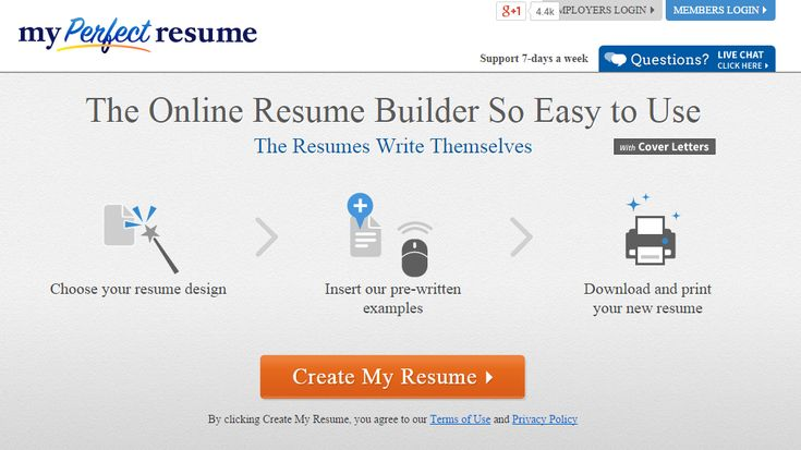 Call to action create my resume Landing Pages  Inspiration - my perfect resume login