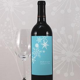 Winter Finery Wine Label