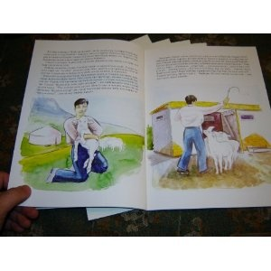 Kyrgyz Children's Story Book about Sheep / Christian Kirgyz Book for Children $14.99