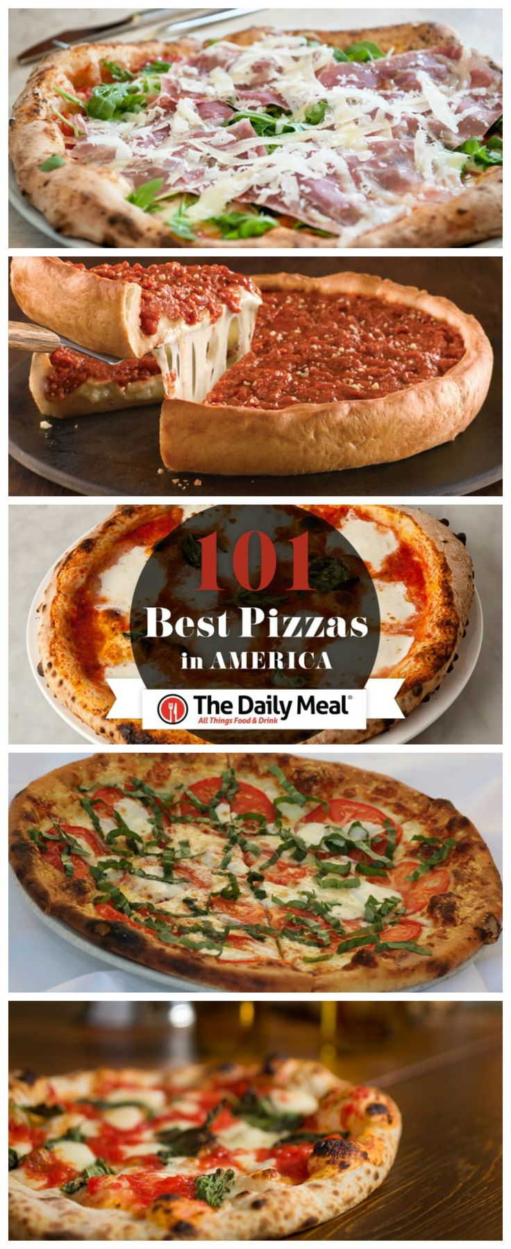 Check Out the 101 Best Pizza's in America!! http://www.thedailymeal.com/101-best-pizzas-america/10222013