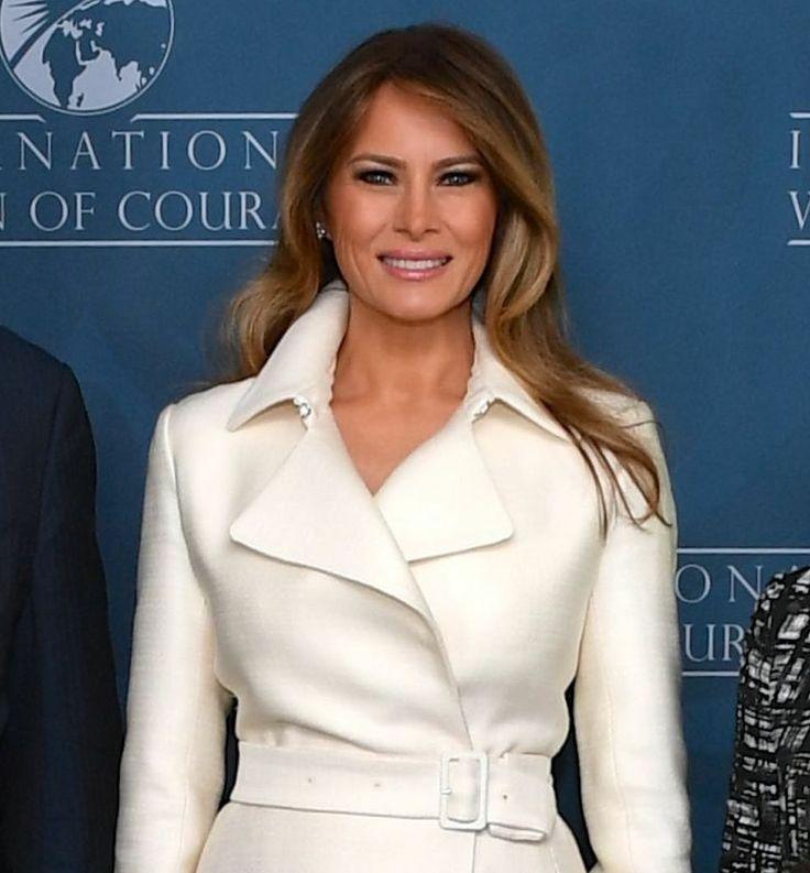 Melania Trump Presents International Woman Of Courage Award In Washington