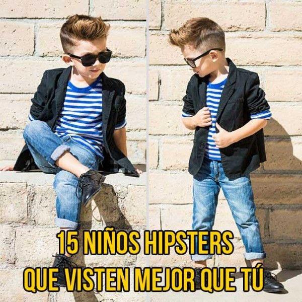 Galería: 15 Niños Hipsters que visten mejor que tú