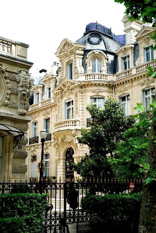 Ornate, Paris, France