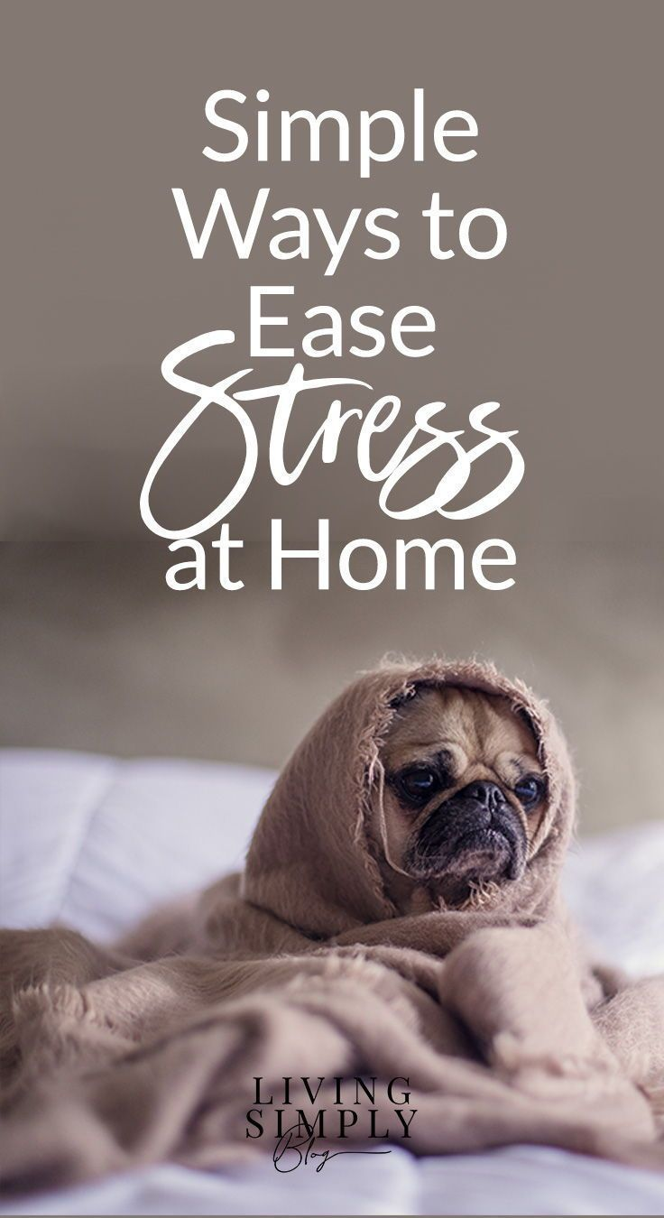 Simple Ways To De Stress At Home Less Solutions Relieve Pinterest Mental Health Mindful Living And