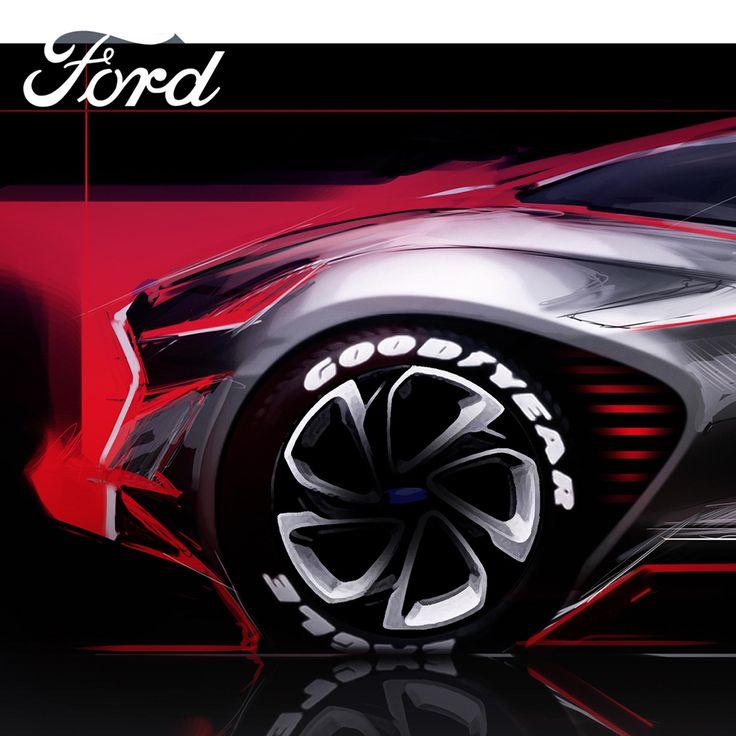 """查看此 @Behance 项目:""""Ford 2015 - 2016""""https://www.behance.net/gallery/36916453/Ford-2015-2016"""