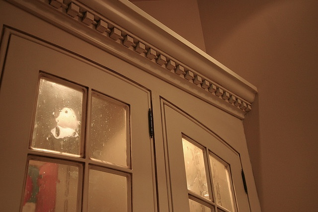 Crown Moulding Accented With Dentil Moulding Interior