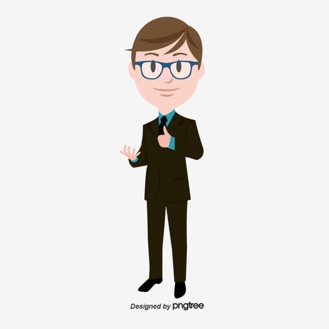 من ناحية رسم كرتون رجل الاعمال يرتدي النظارات رسوم متحركة قصاصات فنية رجل Png وملف Psd للتحميل مجانا Cartoon Clip Art Man Clipart Cartoon