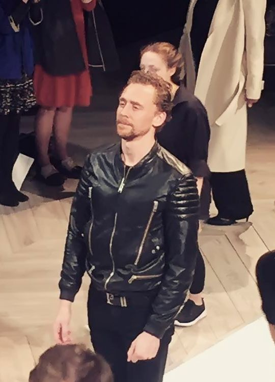 Tom Hiddleston in Hamlet (RADA, 2017). Source: https://www.instagram.com/p/BYrLYENFg4o/