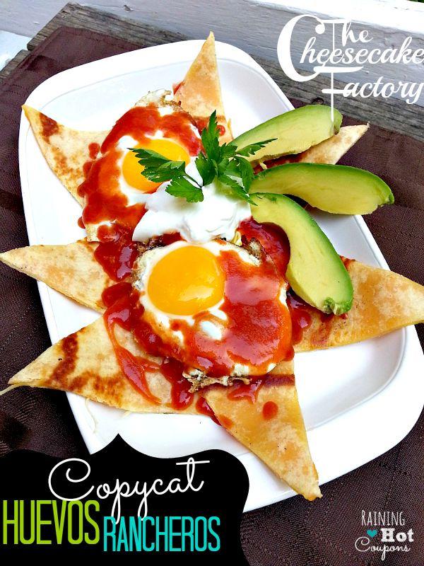 The Cheesecake Factory Copycat Recipe: Huevos Rancheros - SO GOOD!