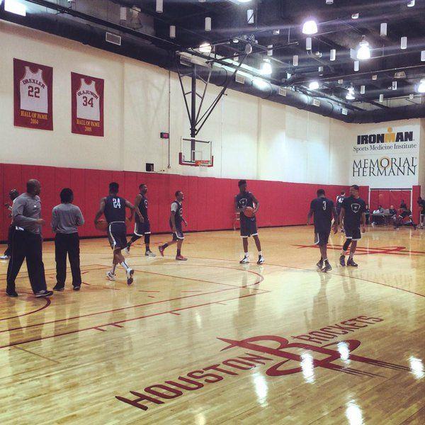 Find It Houston: Houston Rockets Practice Facility