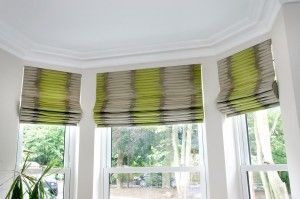 To show how printed blinds can work without curtains - lots of light!