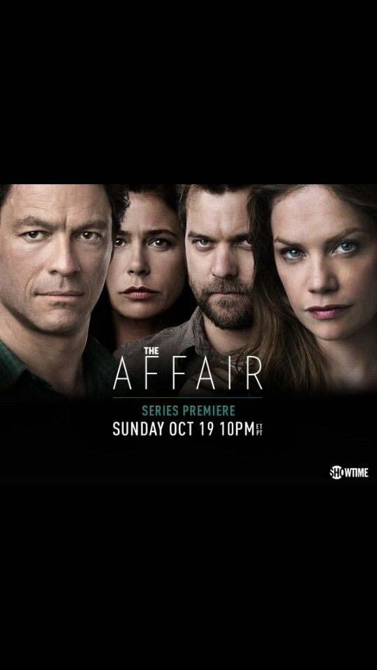"The Affair ~ I only started watching this because of Joshua Jackson from ""Fringe"", but with only one episode to go for season 2, I'm definitely hooked."