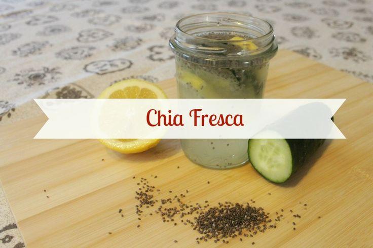 - La mia versione della Chia Fresca, una bevanda energetica naturale fatta in casa, originaria dell'America Centrale, che sta diventando sempre più popolare! Antiossidante, diuretica e vitaminica :) - My version of the chia fresca!