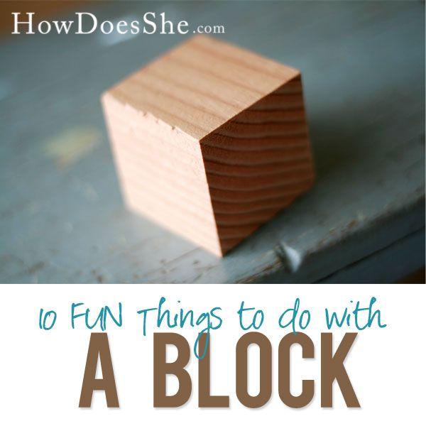 Wood Block Craft Ideas ~ Christmas wood craft ideas pinterest woodworking