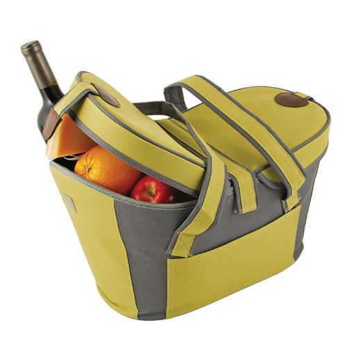 Green Collapsible Carrier for picnic's