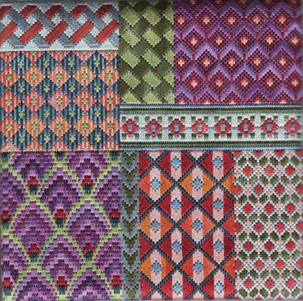 Bargello Samplers - Sampler H
