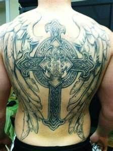 steampunk+cross+tattoo | pin steampunk wings tattoo by shoutai cross tattoos with on pinterest
