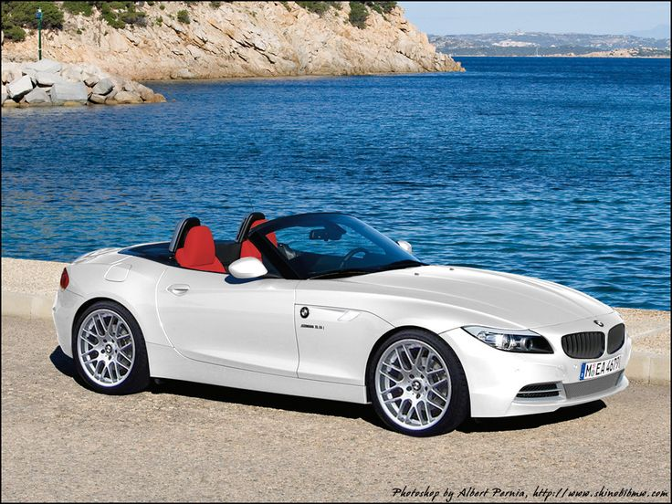 I want! white bmw with red interior