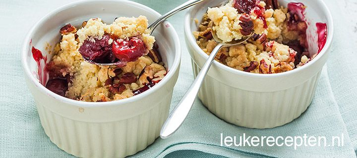 kersen crumble (dutch website)
