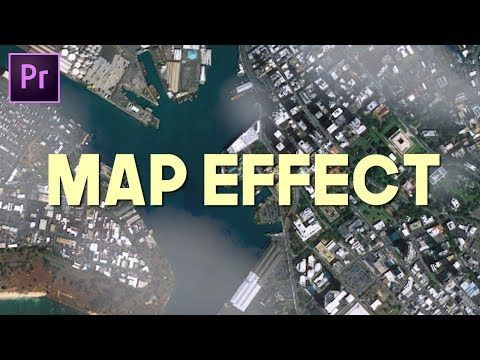 Map/Fake Drone Effect (Andreas Hem Premiere Pro Tutorial) - YouTube