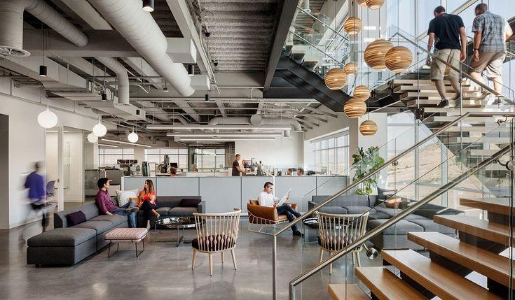 Konsep kantor Ancestry kurang lebih sama dengan kantor konsep Green Office. Yaitu kantor yang didesain untuk berkolaborasi dengan alam sekitar.  #architecture #ancestry #kantor #greenoffice